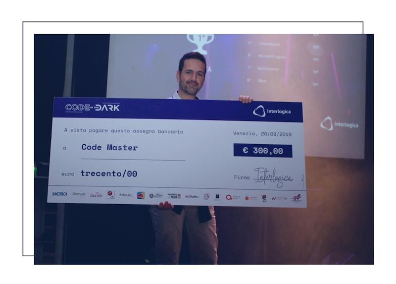 code in the dark venezia vincitore